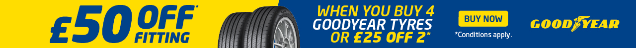 Goodyear promotion banner