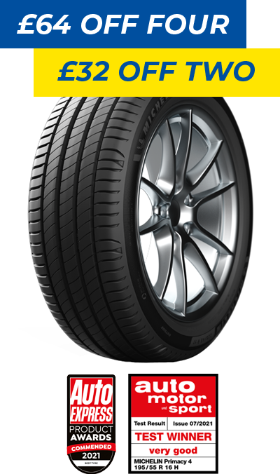 MICHELIN PRIMACY 4 255/45 R18 tyre